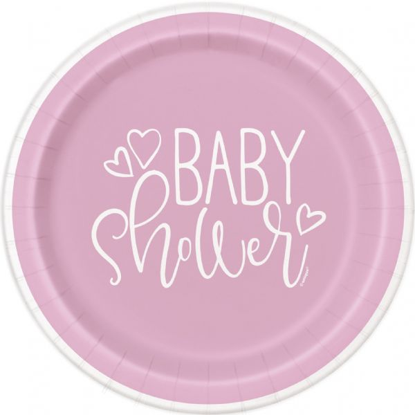 Pink Hearts Baby Shower 7